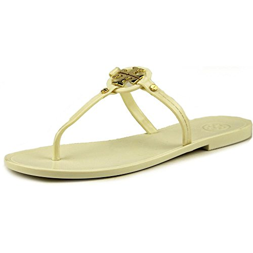 Tory Burch Mini Miller Jelly Thong Sandal, Ivory - Tory Sale Burch