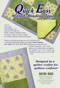 Quick-Easy Mitered Binding Tool by Quick Easy Mitered Binding Tool