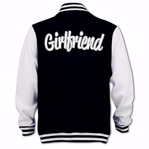 Noir Femme Blouson Girlfriend Clothing Bang Jb Tidy D'université a06wUz