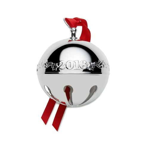 Wallace 2016 Sterling Sleigh Bell Ornament, 22Nd Edition by Wallace