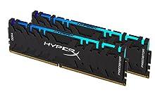 HyperX Predator HX432C16PB3AK2/32 Memoria 3200MHz DDR4 CL16 DIMM XMP 32GB Kit (2x16GB) RGB