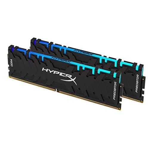 HyperX Fury 8GB 2400MHz DDR4 CL15 DIMM 1Rx8/ RGB XMP Desktop Memory Single Stick HX424C15FB3A//8