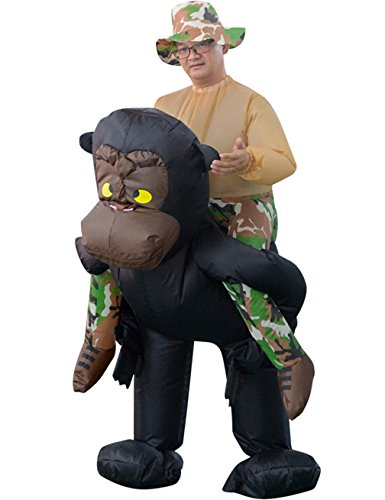 Gameyly Inflatable Adult Animal Rider Halloween Costumes Fancy Dress Party Outfit Orangutan (Costume Jobs)
