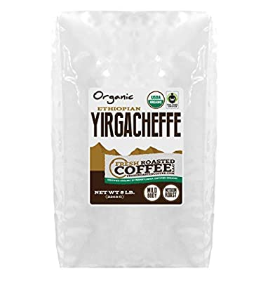 Ethiopian Yirgacheffe Oromia OFT Coffee, Whole Bean, Fresh Roasted Coffee LLC