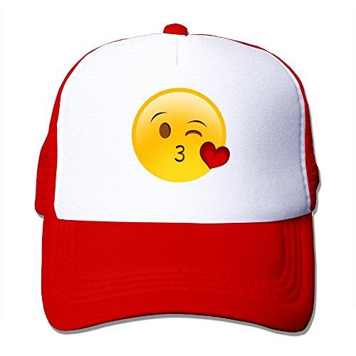 Greenday Give You Kiss Emoji Trucker Adjustable Flexfit Custom Hats Cap Mesh - Flexfit Custom Hat Trucker
