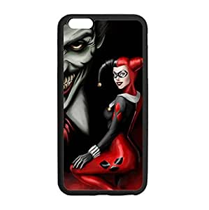Mad Love Joker and Harley Quinn Backgroud Case Covers For iPhone6 Plus with Laser Technology by supermalls