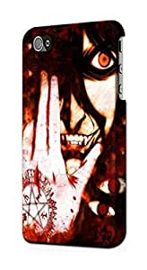 S2026 Hellsing Alucard Dracula Case Cover For IPHONE 4 4S