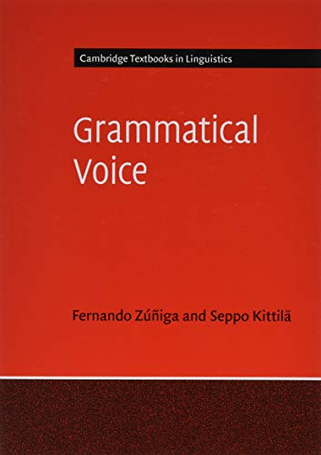 Grammatical Voice (Cambridge Textbooks in Linguistics)