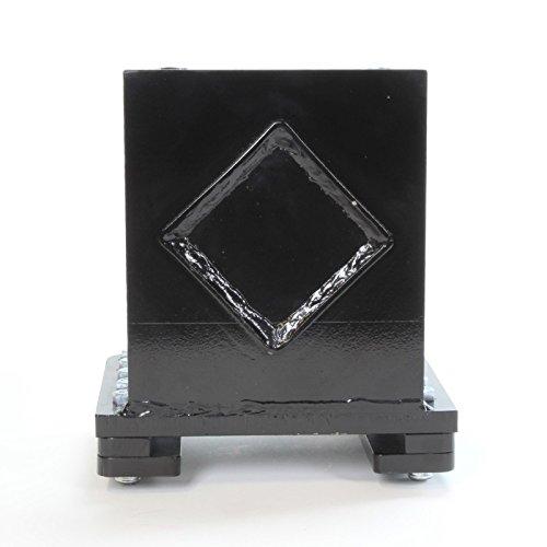 "RuggedMade Log Splitter Push Plate - 1.75"" ID Rod Sleeve, 1/"
