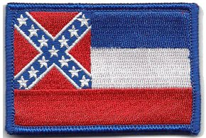 Gadsden and Culpeper Mississippi Tactical Flag Patch (Full Color)