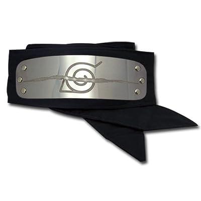Great Eastern GE-7857 Naruto Anti Leaf Village Headband Cosplay Headband: Toys & Games