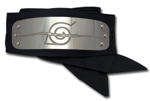- Great Eastern GE-7857 Naruto Anti Leaf Village Headband Cosplay Headband