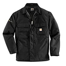 Carhartt Men's Arctic Quilt Lined Yukon Coat,Black,XX-Large