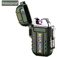lcfun Waterproof Lighter Outdoor Windproof Lighter Dual...