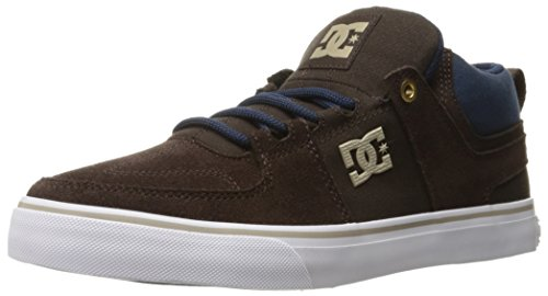 DC Tan Mid Lynx Shoe Vulc Skate Brown rzrHYw
