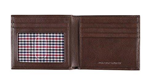 Johnston & Murphy Slimfold Wallet (Dark Brown)
