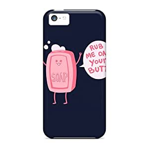 ChrisHuisman Iphone 5c Hybrid Cases Covers Bumper Brush Love