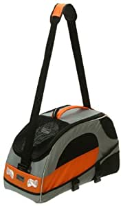 Petego Sport Wagon Bag Pet Carrier-Silver/Orange