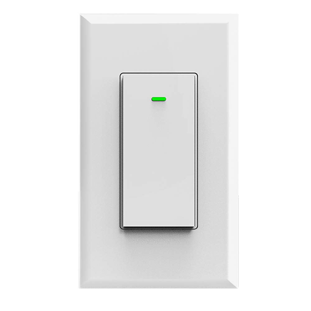 Smart Wifi Light Switch App Wireless Control From Anywhere Ceiling Fan Wiring Diagram In Addition Single Pole Compatible With Alexa Google Assistant Home Timing Schedule Count Down Overload Protection No