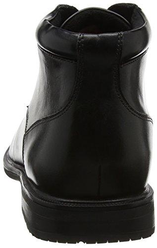 II Chukka Essential Black Uomo Rockport Detail Stivali Nero qtUxEC4wCd