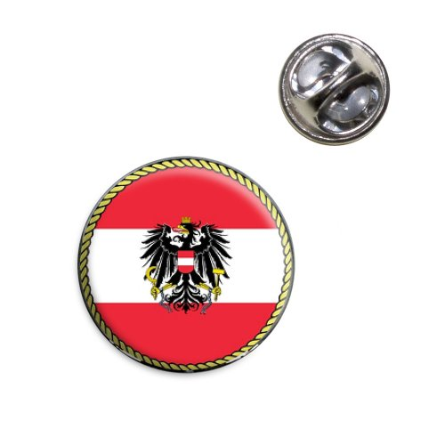 - Flag of Austria Lapel Hat Tie Pin Tack
