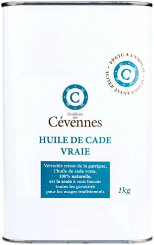 Aceite de cade auténtico - 1 kg - Listo para usar - Distillerie des Cévennes