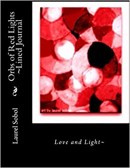 Book Orbs of Red Lights ~Lined Journal (Journals Framable Covers)