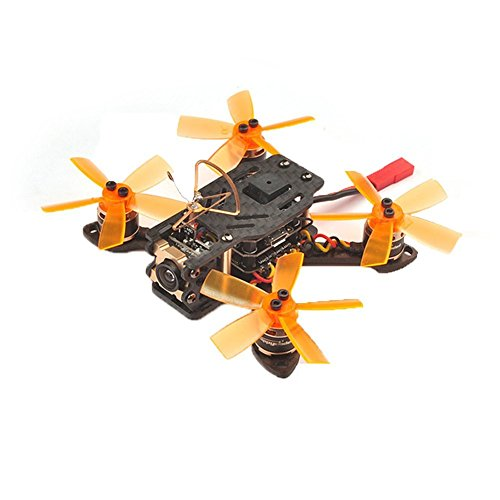 Happymodel Toad 90 FPV Racing Drone Mini Micro Brushless F3 DSHOT Flight Controller with Flysky RX Receiver (BNF Version)