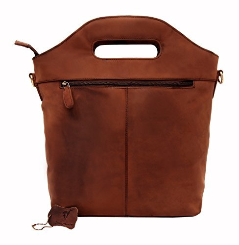 DH Genuine Soft Buffalo Leather Tote Bag Elegant Shopper Shoulder BagSALE by Devil Hunter (Image #3)