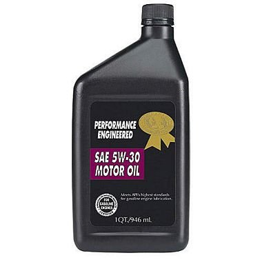 Certified 5W30 Motor Oil - 1 Quart Bottles - 12 pack (pack of 2) by Certified