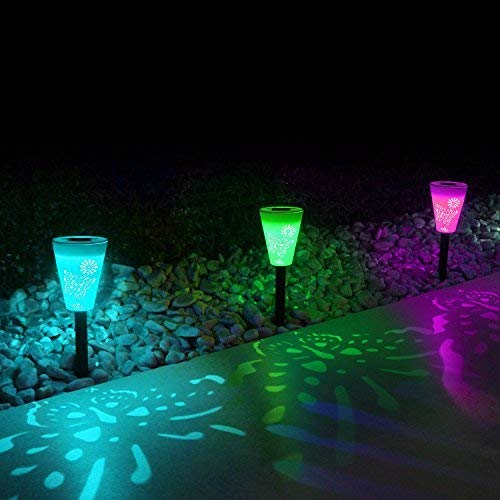 Solar Pathway Color Changing Led Lights in US - 7