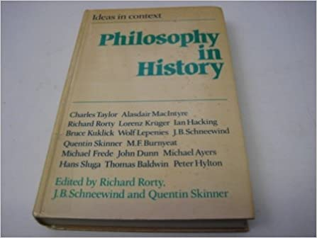 Philosophy in History: Essays in the Historiography of Philosophy