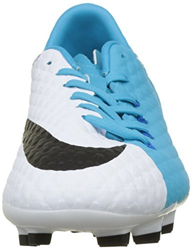 Men's Blue Chlorine III White Black FG Soccer Phelon Nike Hypervenom Blue Cleats Photo OqSZ4qF