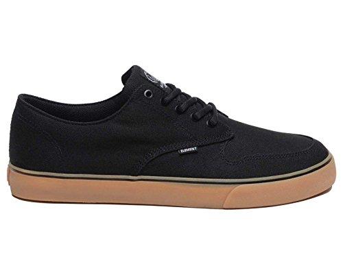 Black TOPAZ Gum Element Sneakers C3 Herren RHwIf