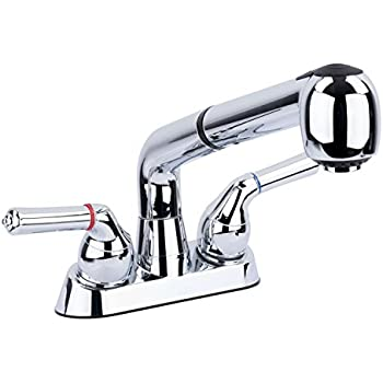 Moen 74998 Chateau Two Handle Low Arc Laundry Sink Faucet