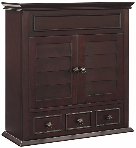 (Crosley Furniture Lydia Bathroom Wall Cabinet - Espresso)