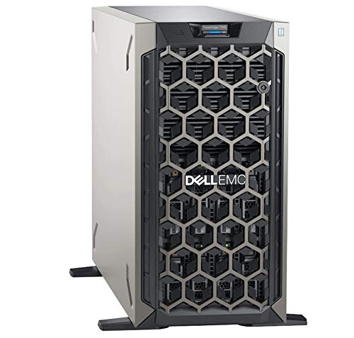 Dell PowerEdge T340 Tower Server, Intel Xeon E-2124 Quad-Core 3.3GHz 8MB, 64GB DDR4 RAM, 8TB Storage, RAID, DRAC