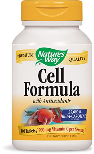 Cell Formula w/Antioxidants (formerly Antioxidant Formula), 100 Tablets by Nature's Way