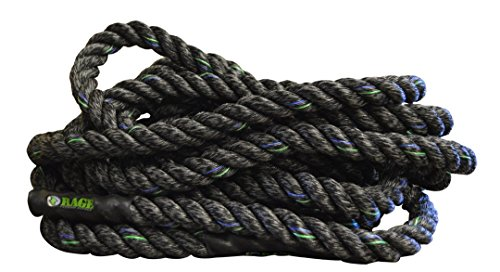 RAGE Fitness Performance Conditioning Rope, 40' by Rage Fitness