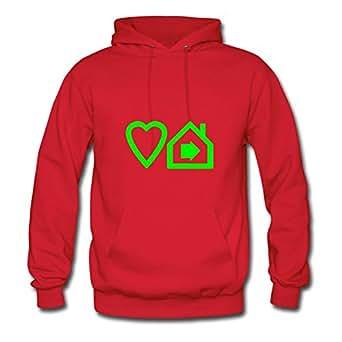 Sarahdiaz Red Personalized Diatinguish Chic Ts-3-love-progressive-house-v2 Hoodies/women X-large