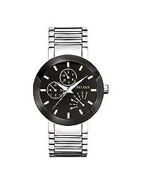 Reloj Bulova Unisex  40mm, pulsera de Acero Inoxidable