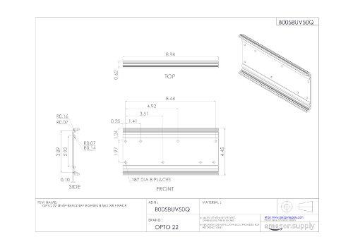 Opto 22 SNAP-B8M Snap B-Series 8 Module Rack by Opto 22 (Image #2)