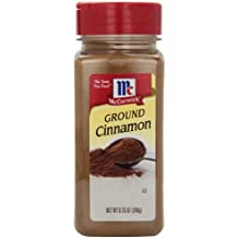 McCormick Cinnamon, Ground, 8.75 oz., Classic Seasoning Belongs In Every Kitchen, A Baker's Must-Own, Perfect for baked Goods, Chili, Slow-Cooked Stews and More