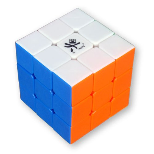 Dayan GuHong 3x3 Speed Cube 6-Color Stickerless V1