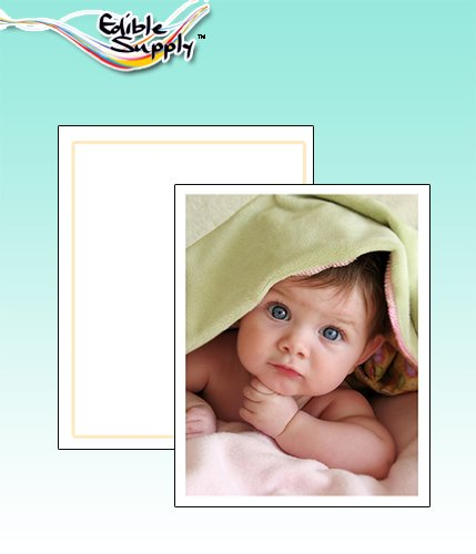 Edible Supply® Fondant Edible Paper - 8.5