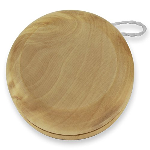 Dimension 9 Blank/No Engraving Classic Wood Yoyo with Laser by Dimension