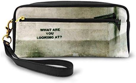 長財布 ポーチ グラフィティアート レザーバッグ 化粧バッグ おしゃれ かわいい 小型バッグ ペンケース クラッチポーチ メイクポーチ