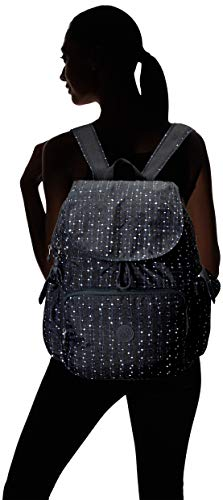 Kipling Women's Zax Backpack Diaper Bag, Tile Print, One Size