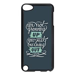 Customize Generic Hard Plastic Shell Phone Cover Green Day Back Case Suitable For iPod 5 Touch 5th Generation