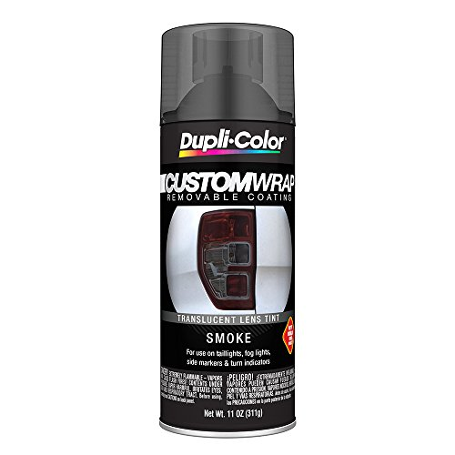 Gray Plastic Lens (Dupli-Color ECWRC8157 Custom Wrap Lens Tint Smoke)